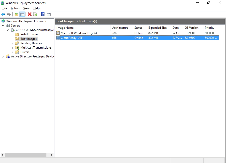 WDS CloudReady Image